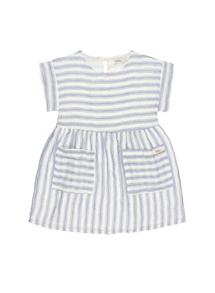 Dress - Diana Stripes indigo