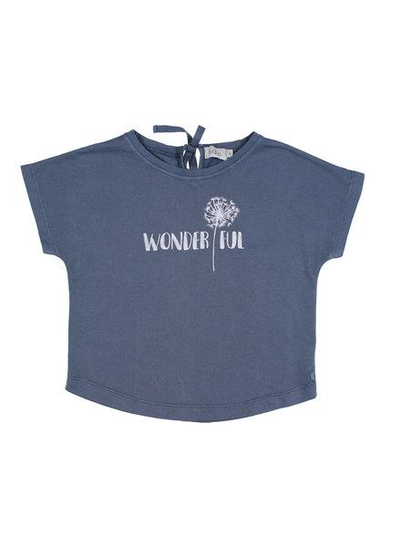 T-shirt - Rita Wonderful indigo