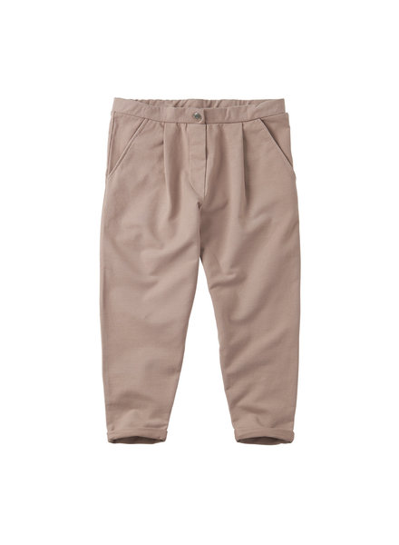cropped chino - fawn
