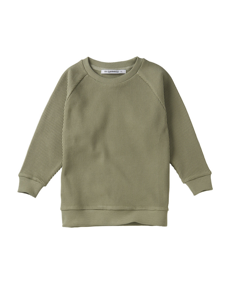 sweater Favo laurel - oak