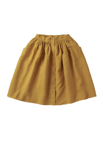 skirt linen - spruce yellow