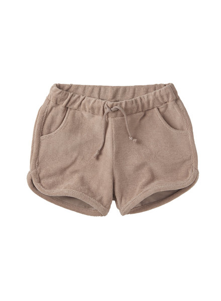 retro short - terry fawn