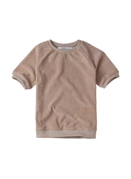 t-shirt -terry - fawn