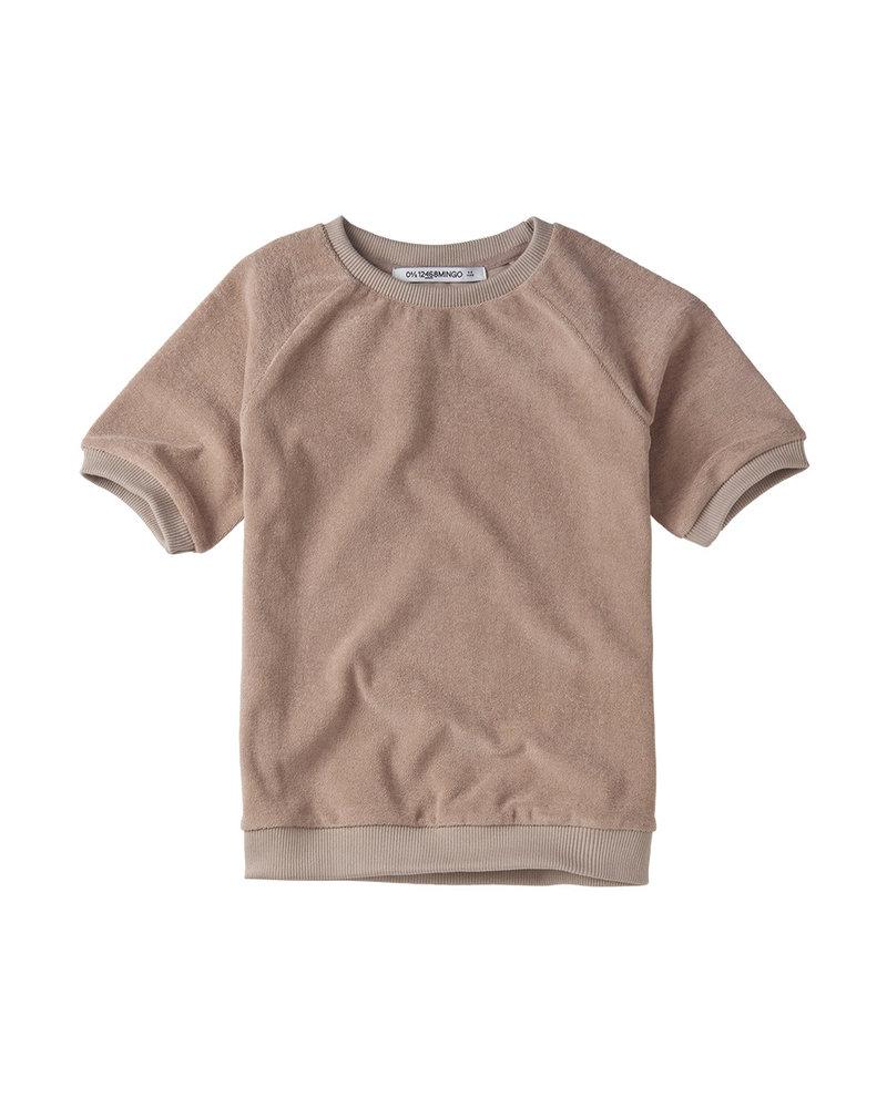 t-shirt -terry - fawn