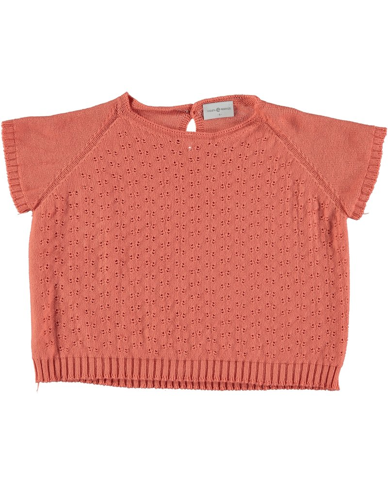 Top knitted - Monroe apricot