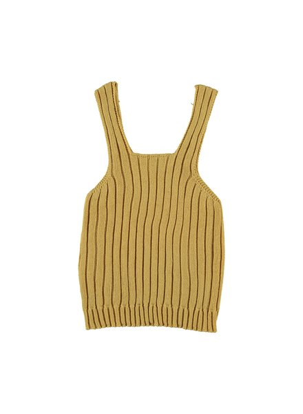 Top knitted - Marilyn mustard