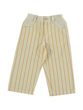 Bonmot Ankle Trouser - Thin Stripes Ivory
