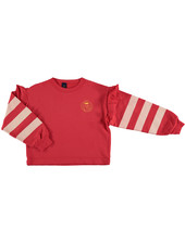 Bonmot Sweatshirt - Frilles Paintor Clay Red