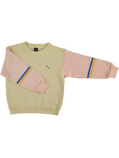 Bonmot Sweatshirt - Brushstroke Melow Yellow