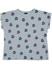 Bonmot T-shirt - Paint All Over Light Blue