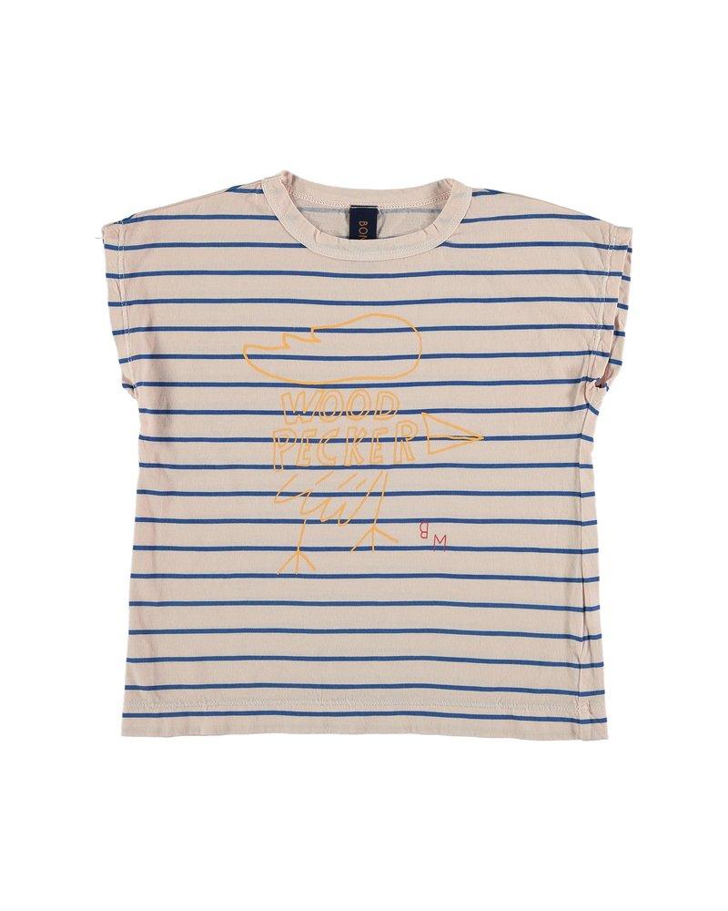 Bonmot T-shirt - Big Woodpeker Tan Cream