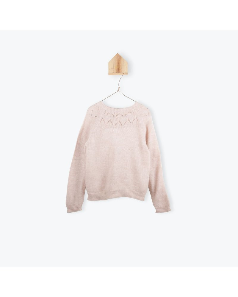 Pull - Jersey Tricote Nude