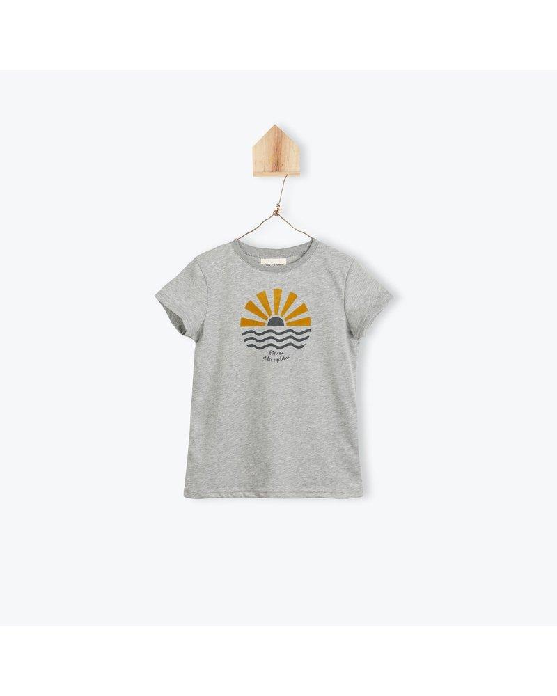 T-shirt - Soleil Levant Gris