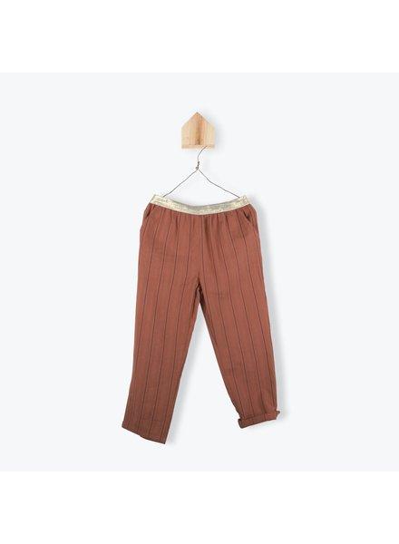 Pants - Coton Raye Paprika