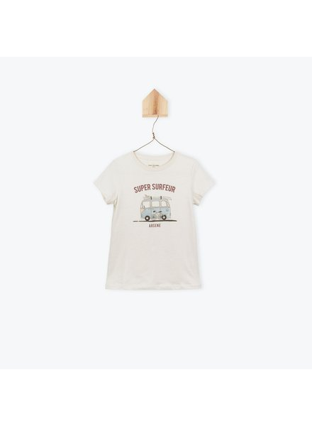 T-shirt - Super Surfeur Craie