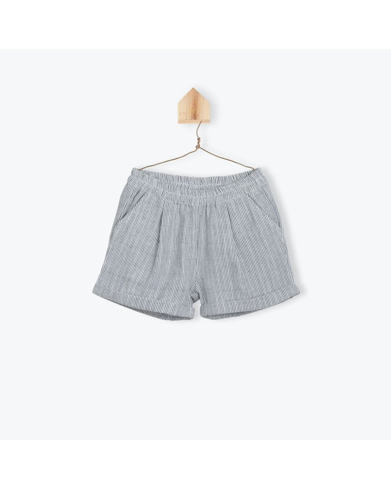 Short - Tubique Raye Indigo