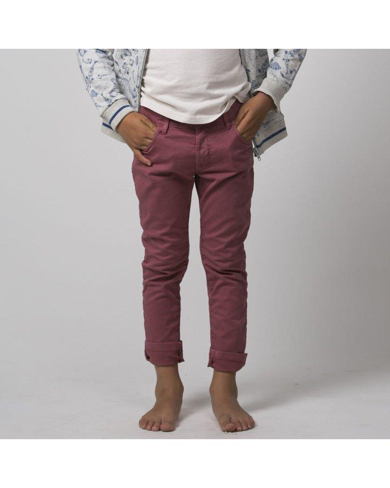 Pants - Gabardine Stretch Amarante