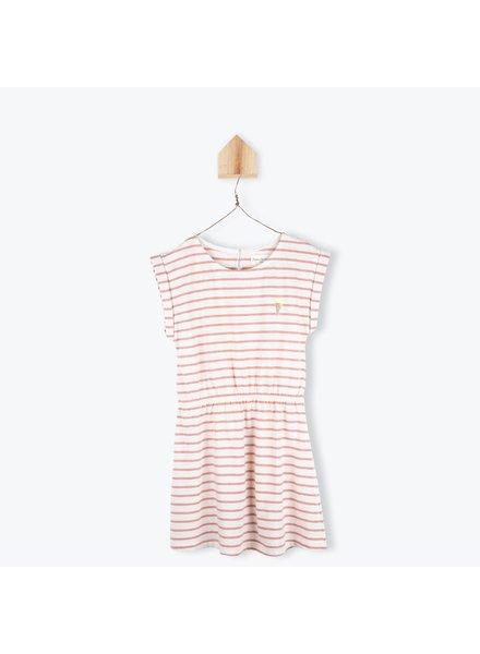 Dress - Jersey Raye Brique