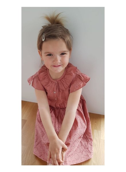 Dress - Colette Plumeti brick