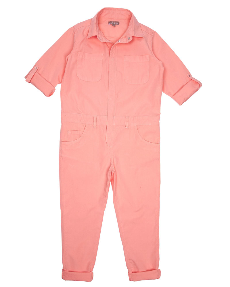 OUTLET // overall - grenadine