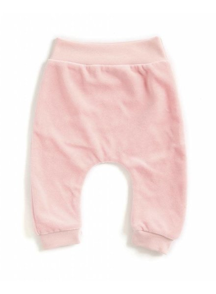 OUTLET // baggypants velours - roze