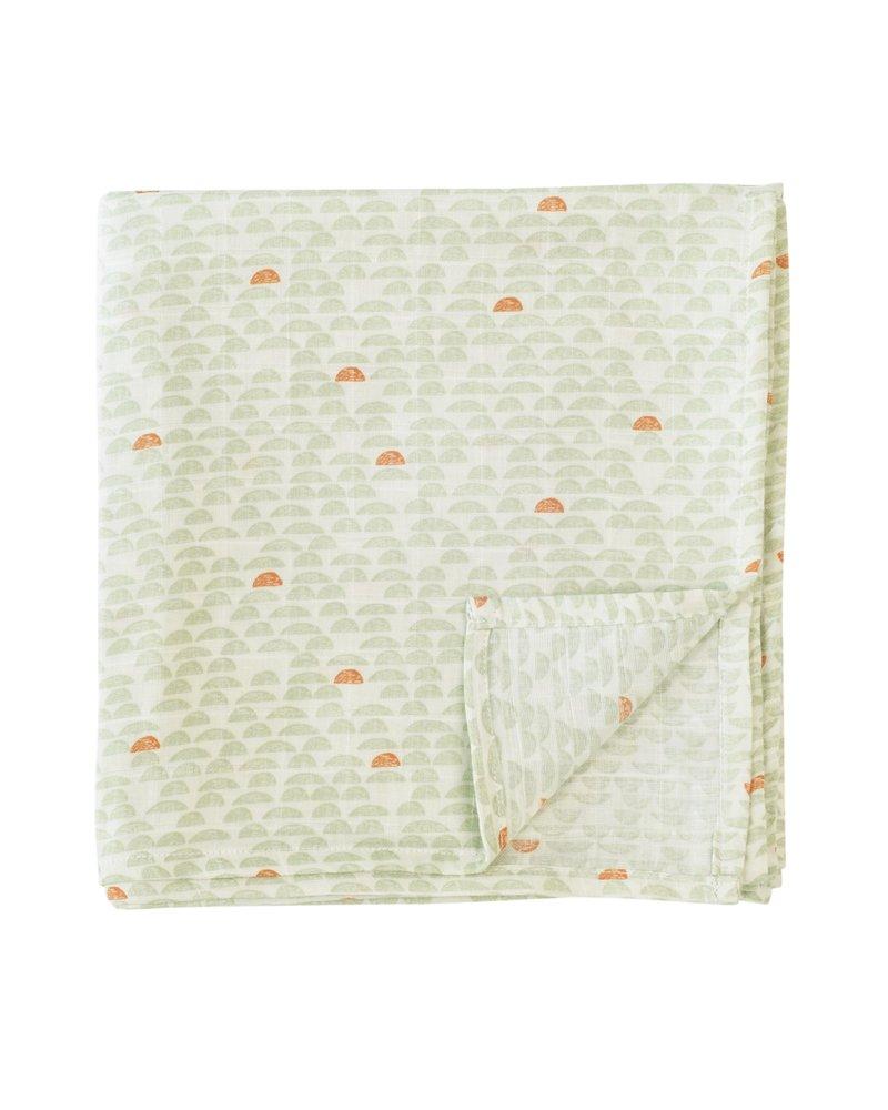 OUTLET // Tetradoek - Pebble green (110 x 110cm)