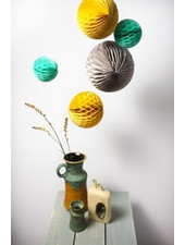 OUTLET // Honeycomb set van 3 - retro