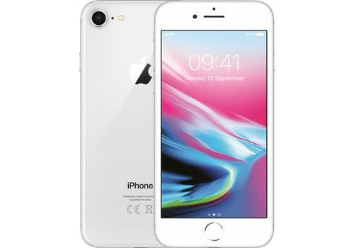 iPhone iphone 8 zilver 256GB zichtbaar gebruik