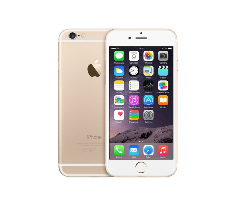 iPhone 6 - Gold - 128GB (nieuw)