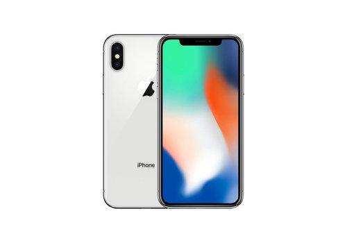 Apple iPhone X - Silver - 64GB (zo goed als nieuw)