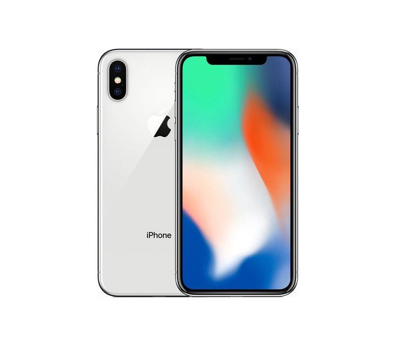 iPhone X - Silver - 64GB (zo goed als nieuw)