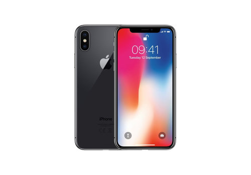 Apple iPhone X - Space Grey - 64GB (zo goed als nieuw)