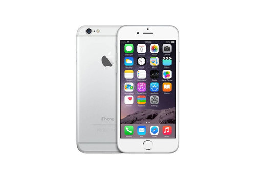 Apple iPhone 6 - Silver - 16GB (licht gebruikt)