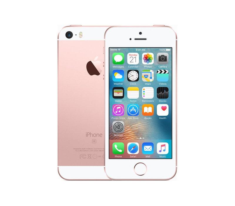 iPhone SE - Rose Gold - 16GB (licht gebruikt)