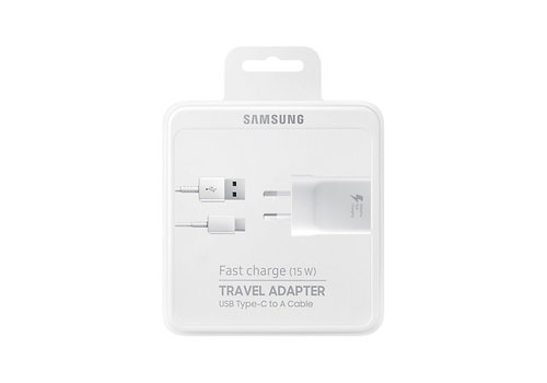 Samsung Fast Charge (15 W)  USB-C - Wit