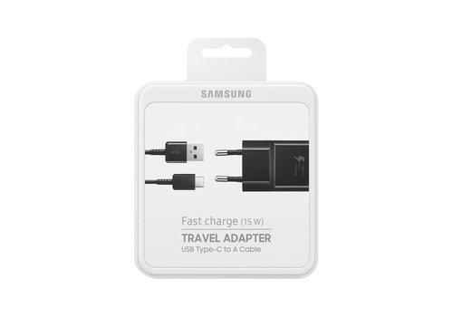 Samsung Fast Charge (15 W)  USB-C - Zwart