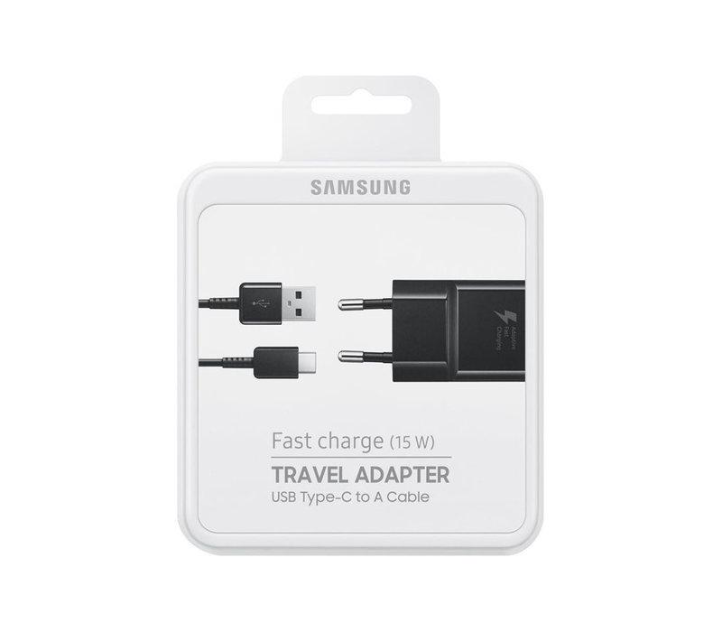 Fast Charge (15 W)  USB-C - Zwart