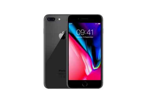 Apple iPhone 8 Plus - Black - 256GB (zo goed als nieuw)