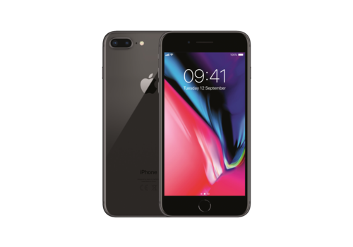Apple iPhone 8 Plus - Black - 64GB (zo goed als nieuw)