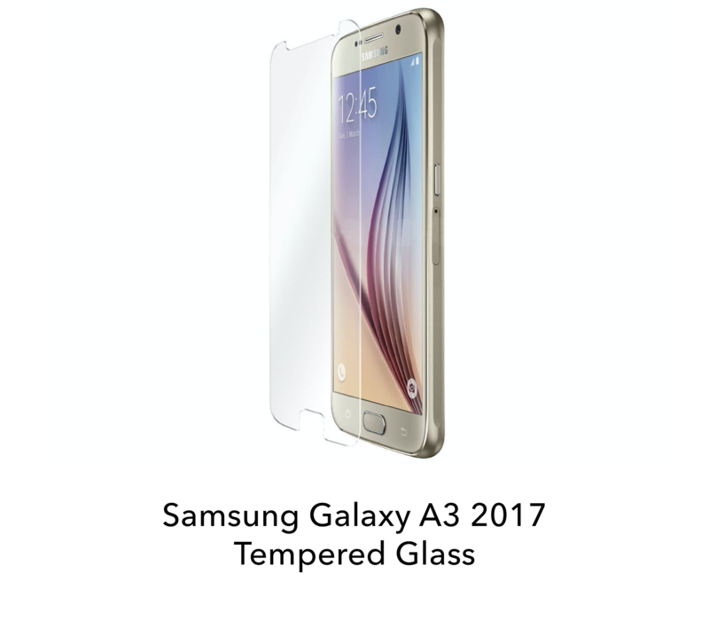 Galaxy A3 2017 - Tempered Hard Glass Screenprotector