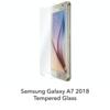 Samsung Galaxy A7 2018 - Tempered Hard Glass Screenprotector