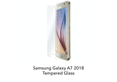 Samsung Galaxy A7 2018 - Tempered Hard Glass Screenprotector