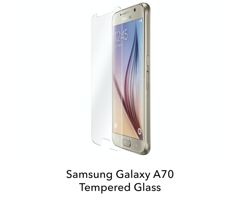 Galaxy A70 - Tempered Hard Glass Screenprotector