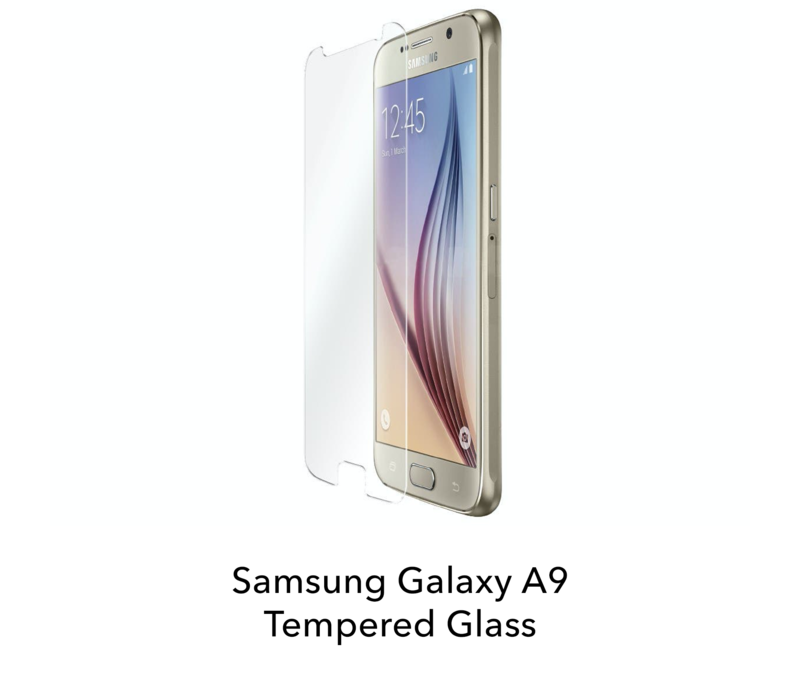 Galaxy A9 - Tempered Hard Glass Screenprotector
