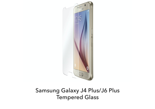Samsung Galaxy J4 Plus/J6 Plus - Tempered Hard Glass Screenprotector