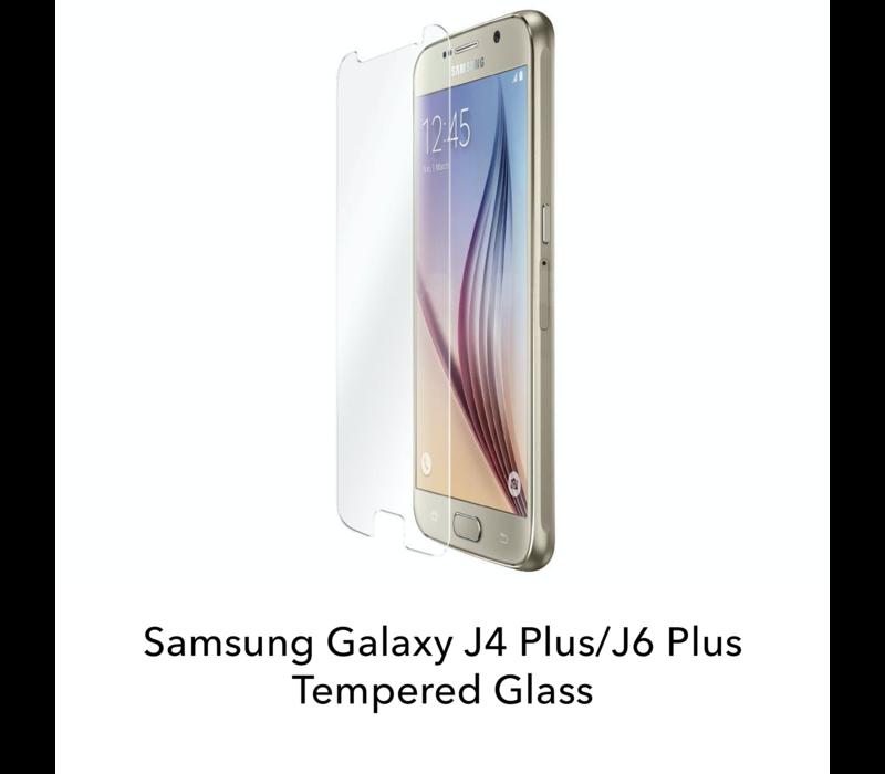 Galaxy J4 Plus/J6 Plus - Tempered Hard Glass Screenprotector