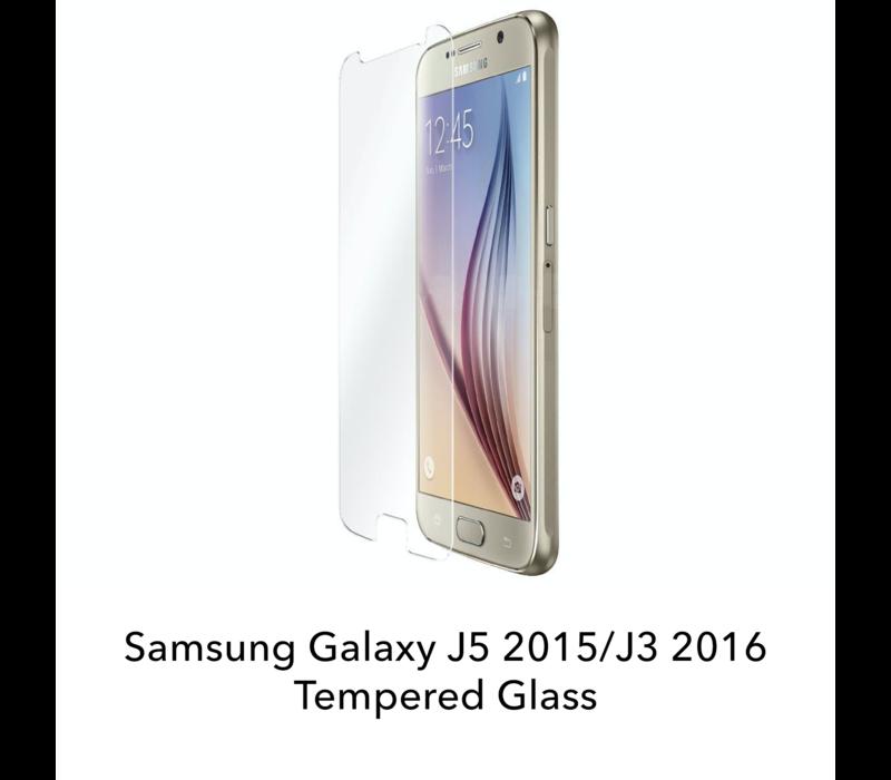 Galaxy J5 2015/J3 2016 - Tempered Hard Glass Screenprotector