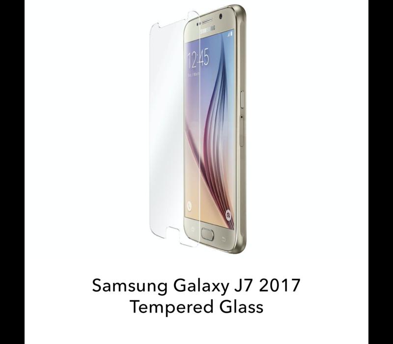 Galaxy J7 2017 - Tempered Hard Glass Screenprotector