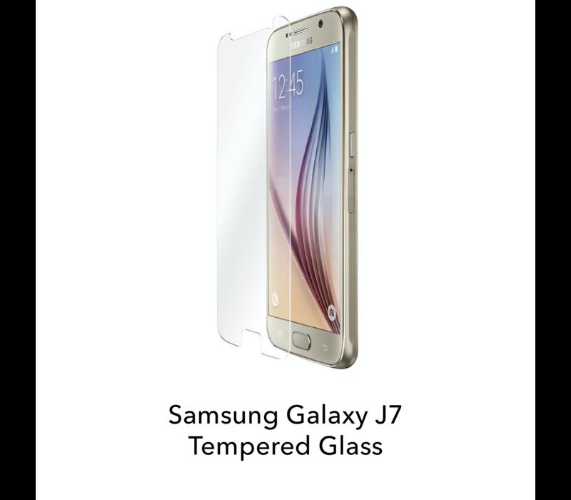 Galaxy J7 - Tempered Hard Glass Screenprotector