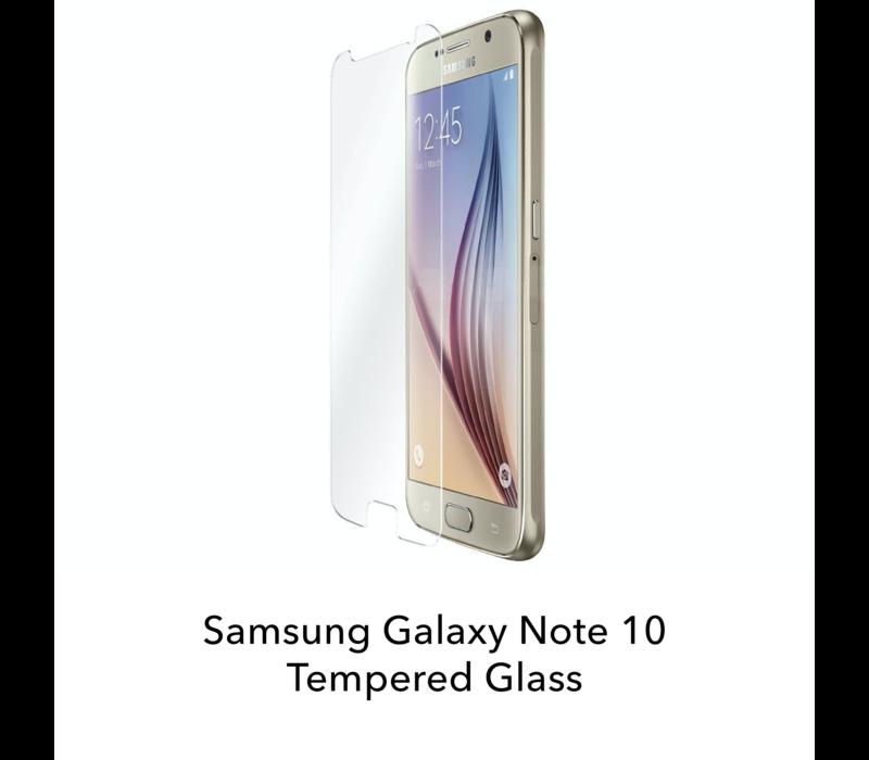 Galaxy Note 10 - Tempered Hard Glass Screenprotector
